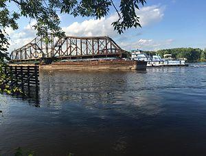La Crosse Rail Bridge - Image: La crosse rail bridge