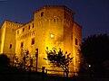 La rocca malatestiana di Cesena di notte.jpg