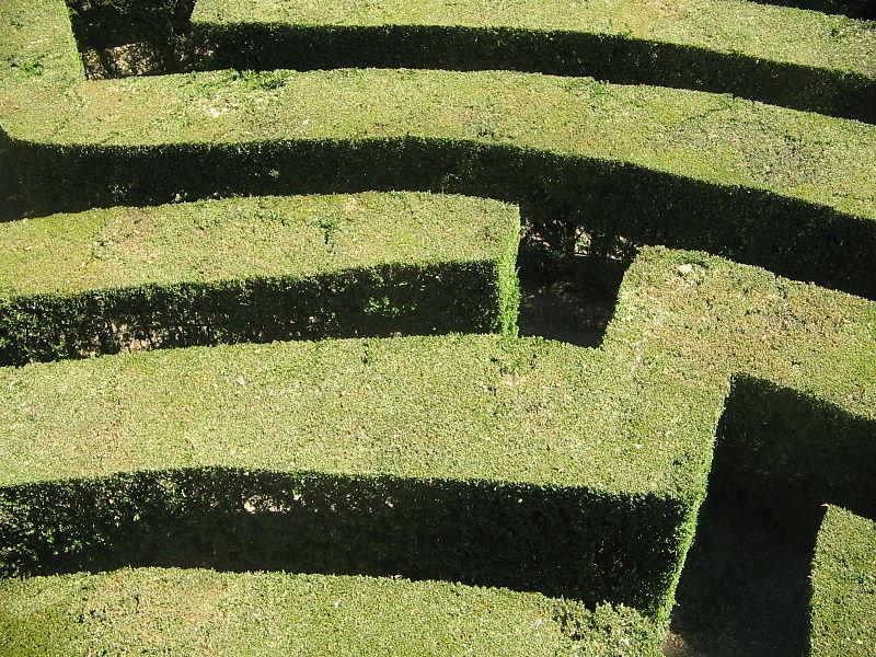 Labirinto villa Pisani 3