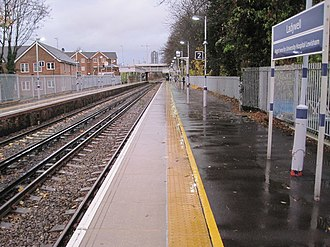 Ladywell railway station - Image: Ladywell railway station, Greater London