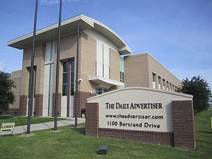 The Daily Advertiser (Lafayette) - Image: Lafayette, LA, Daily Advertiser IMG 5010