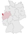 Lage des Kreises Kleve in Deutschland.PNG