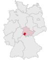 Lage des Landkreises Schmalkalden-Meiningen in Deutschland.png