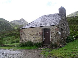 Bothy permanent basic shelter for temporary use