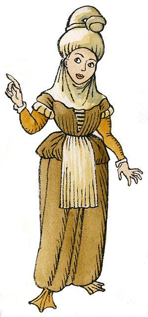 Lamia (Basque mythology) - Basque lamina