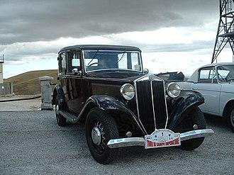 Lancia Augusta - Image: Lancia Augusta, 1935