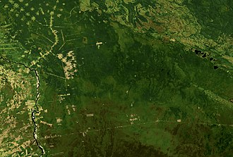 Santa Cruz Department (Bolivia) - Image: Land Sat Chiquitos, Santa Cruz, Bolivia 1984