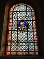 Landas (Nord, Fr) église, vitrail 04.JPG