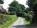 Lane off Church Road - geograph.org.uk - 904829.jpg