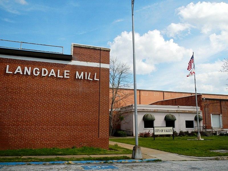Langdale Mill; Langdale Historic District; Valley, Alabama.JPG