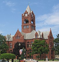 Laporte County Indiana courthouse 2