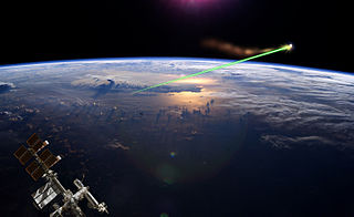 Laser broom Ground-based laser beam-powered system to clear space debris