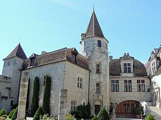 Lauzun - The château in Lauzun