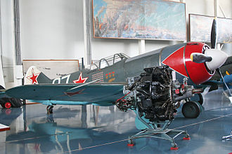 Lavochkin La-7 - La-7 with Shvetsov ASh-82FN engine