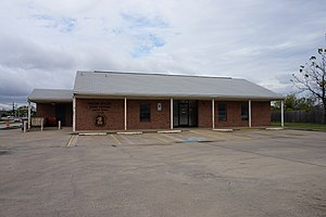 Lavon, Texas - The United States Post Office in Lavon