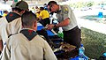 Law Enforcement Agent showing Boy Scouts about the pet trade issues (6499810759).jpg