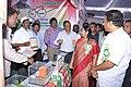 Laxma Reddy and the District Magistrate, Mahabubnagar, Ms. G.D. Priyadarshini visiting the stalls at the Public Information Campaign, at Jadcherla, Mahabubnagar District, Telangana on November 12, 2014.jpg