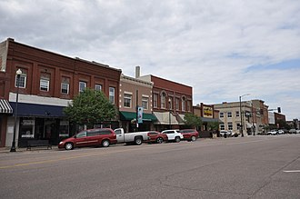 Le Mars, Iowa - Image: Le Mars IA Downtown