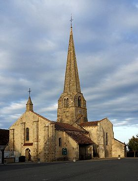 L'église Saint-Martin du Theil.
