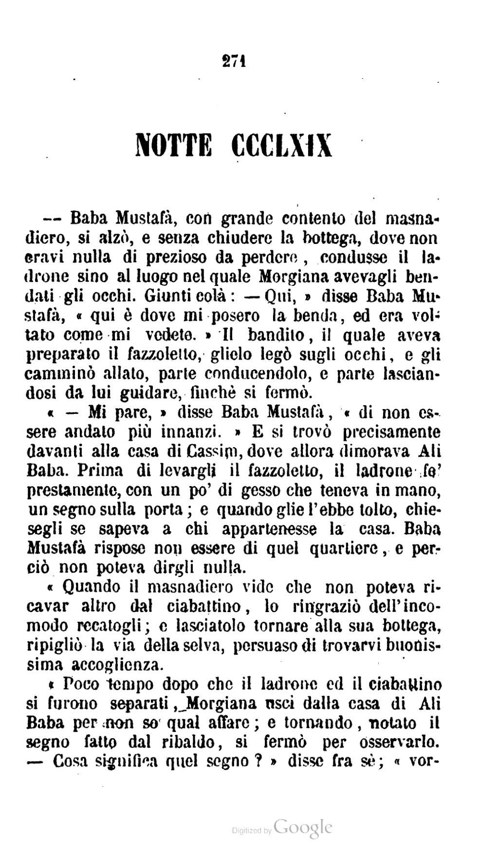 pagina le mille ed una notti 1852 iii