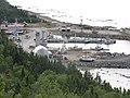 Le port de Cap-Chat vu de la halte routière en bordure de la route ^132, à l'est de Cap-Chat, Qc - panoramio (1).jpg