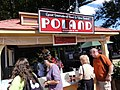 Le stand de la Pologne à l'International Food and Wine Festival de Floride.jpg