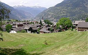 Termen - Image: Le village de Termen