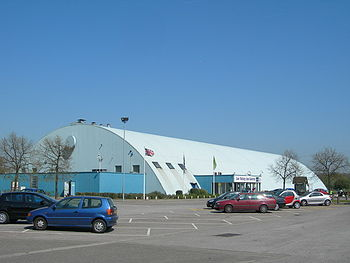 English: Lee Valley Ice Centre An Ice Rink on ...