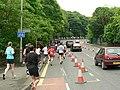 Leeds Half Marathon, Abbey Road - geograph.org.uk - 433829.jpg