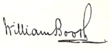 signature de William Booth
