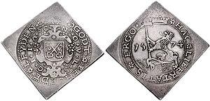 Klippe (coin) - Image: Leiden 1574 789260
