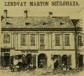 Lendvay Márton (1807) szülőháza.png