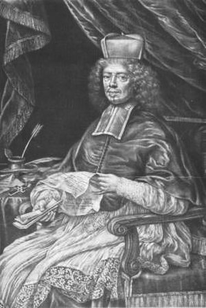 Leopold Karl von Kollonitsch - Kollonitsch, mezzotint by Christoph Weigel