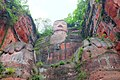 Leshan Giant Buddha View from below.jpg