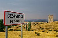 Letrero de Cespedosa de Tormes.jpg