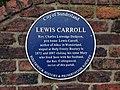 LewisCarrollBluePlaque1.JPG