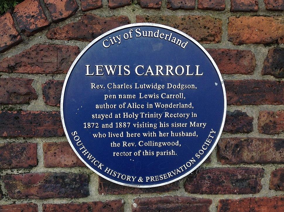 LewisCarrollBluePlaque1