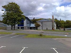 Lews Castle College - Image: Lews Castle College main building