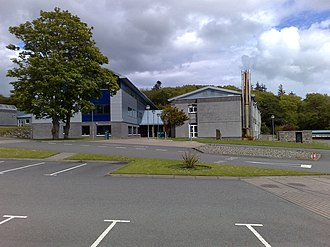Lews Castle College - Image: Lews Castle College main building