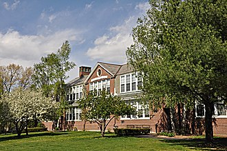 National Register of Historic Places listings in Lexington, Massachusetts - Image: Lexington MA Franklin School
