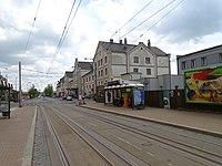 Liberec, Žitavská, zastávka Nádraží, nádraží.jpg