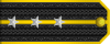 Lieutenant rank insignia (North Korean Navy).svg