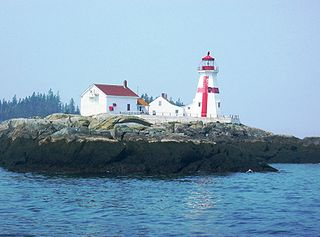 Campobello Island island located at the entrance to Passamaquoddy Bay