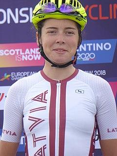 Lija Laizāne Latvian cyclist