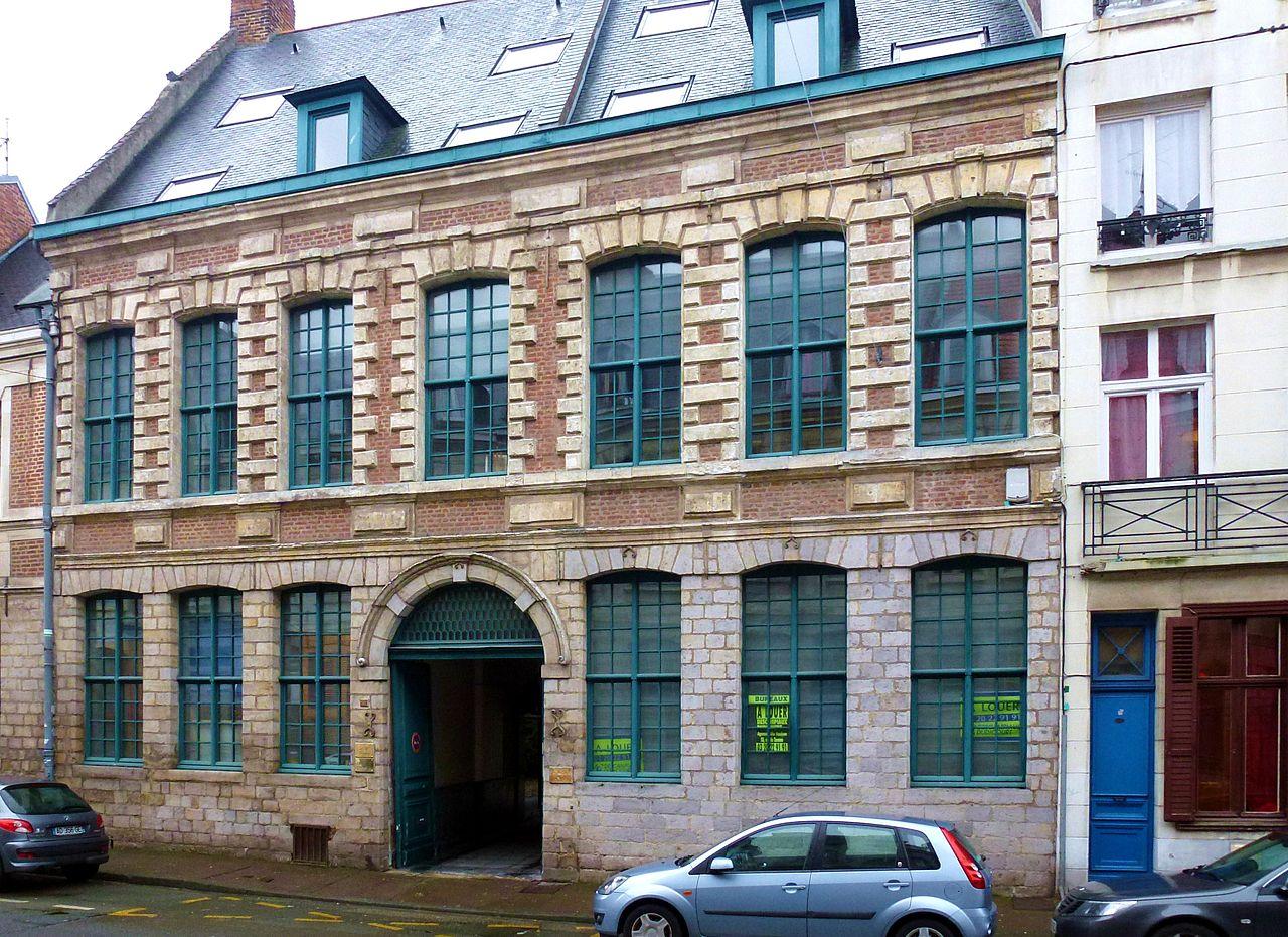 Fichier lille maison 43 rue de la barre jpg wikip dia for Maison des ados lille