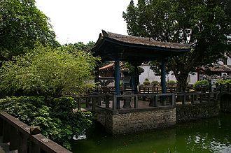 Lin Family Mansion and Garden - A garden scene from Lin Ben Yuan Mansion and Garden