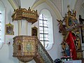 Linden Filialkirche Sankt Maria und Maternus Kanzel.jpg