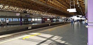 Araneta Center–Cubao station (Line 2) station on the Manila Line 2 (MRT-2)