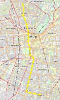 Linea 2 Del Metro De Santiago Wikipedia La Enciclopedia Libre