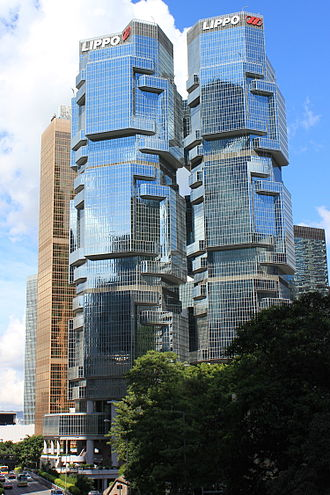 Lippo Centre (Hong Kong) - Twin towers of the Lippo Centre
